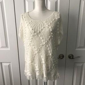 Lilly Pulitzer Crochet Top XL NWT